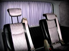 Car curtain curtains for a van Busa Vito Vivaro