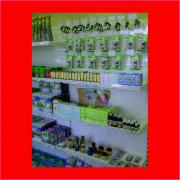 Commercial shelving, commercial equipment for pharmacies