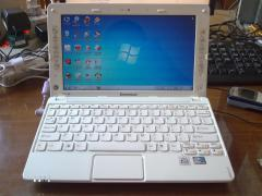 Externally like new netbook Lenovo S10-3s (with box and papers)