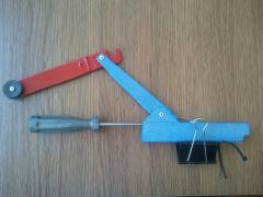 Hook Setter for rubber band and feeder, gift for fisherman