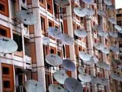Installation of satellite antennas and T2 in the Suvorovsky district of Odessa