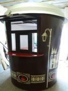 Киоск (маф под ключ) кофейный, продажа киосков в виде стакана