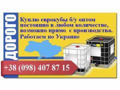 Куплю еврокубы б/у оптом по Украине
