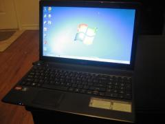 Like new gaming laptop Acer Aspire 5552