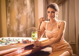 "Master of relaxation at the casino ""Sobranie"""