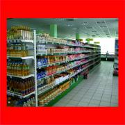Metal racks, equipment for grocery stores