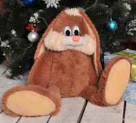 Мягкая игрушка Заяц Несквик 50 см