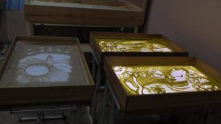 Продажа столов для занятий песочной анимацией