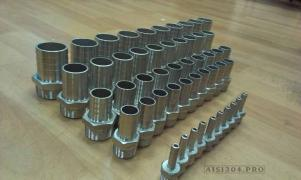 Штуцер шланговый нержавеющий Ду 15*13 мм (1/2) AISI 304