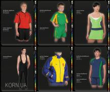 Спортивная форма на заказ, пошив спортивной формы