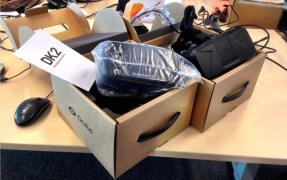 The new Oculus Rift DK2 games Set as a gift! Shipping