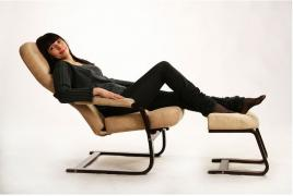 "The rocking chair Relax(Relaxation)with footrest""healthy back"""