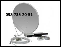 To purchase a set to adjust the satellite dish in Kiev profitable