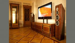 Vip home theater with fantastic sound and image