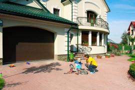 Ворота секционные гаражные 2.5*2.15м за 11000 грн